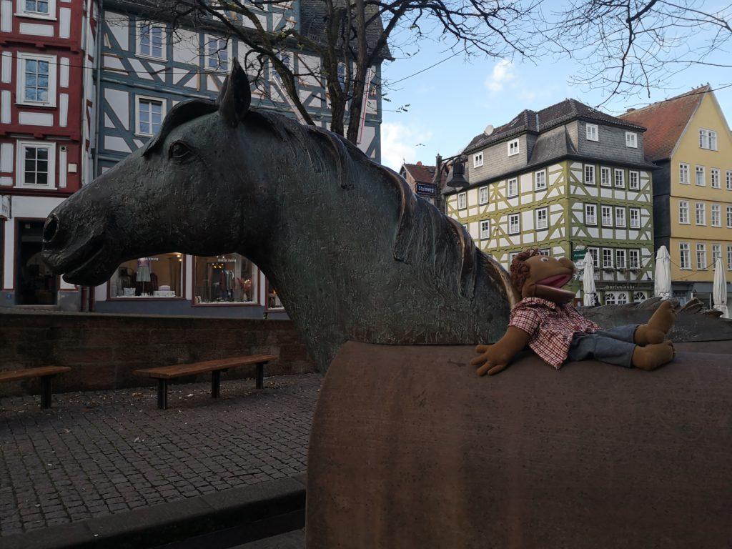 Denkmal zu Ehren Emil-von-Behring in Marburg