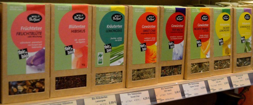 Tee-Varianten von WeltPartner