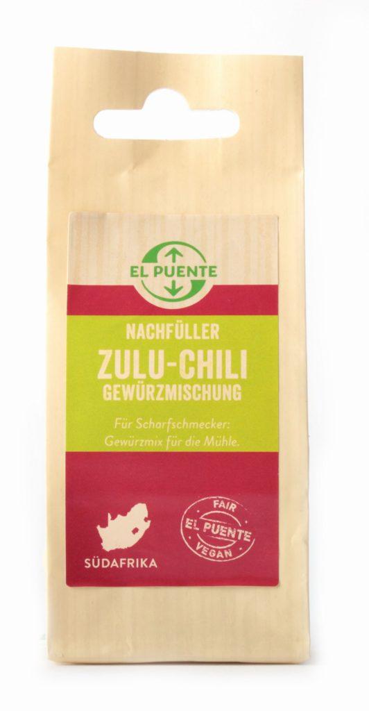 Produkt: Gewürz Zulu-Chili von El Puente
