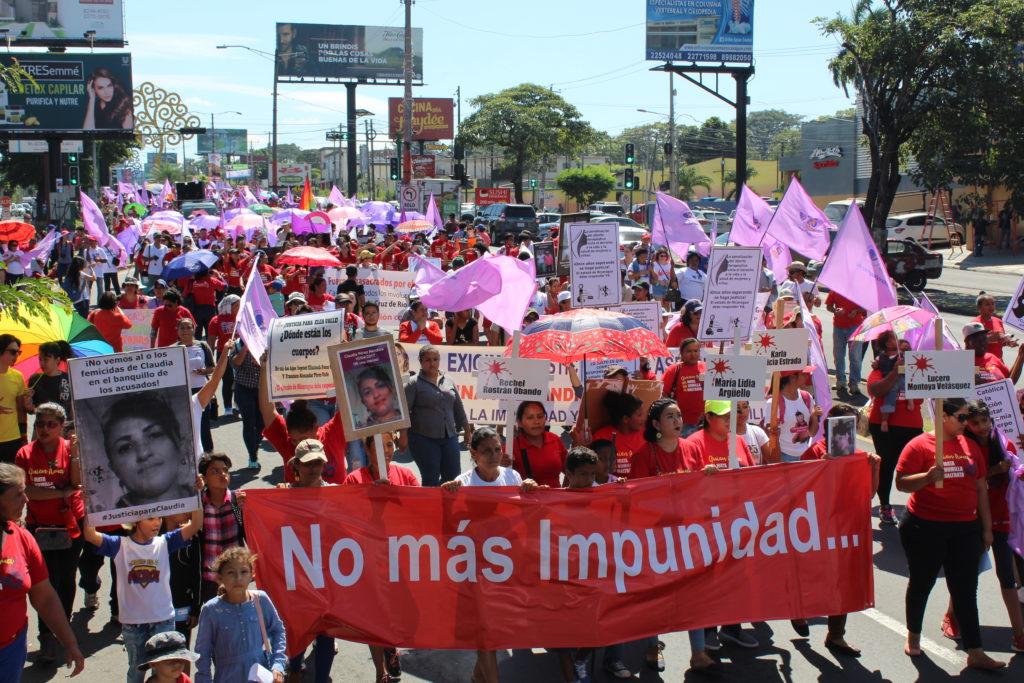"""""""Ein Ende der Straflosigkeit"""" fordern Frauen in Nicaragua am 25. November 2017"""