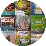 Viele Kinderbücher in der Übersicht