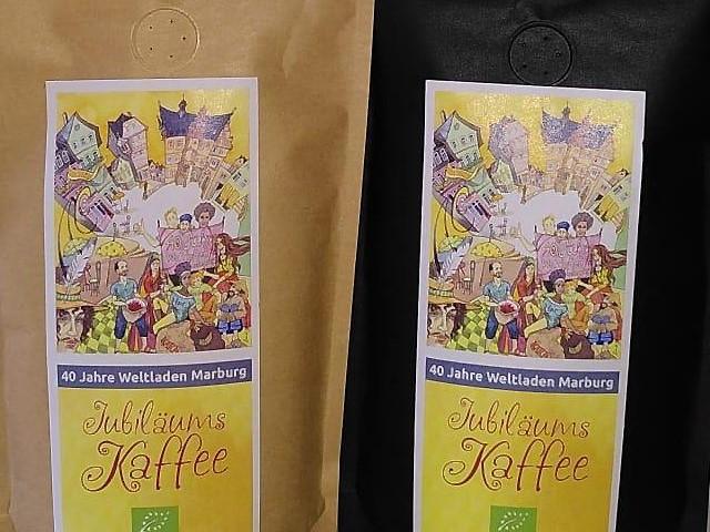 Jubiläumskaffee zu 40 Jahre Weltladen Marburg