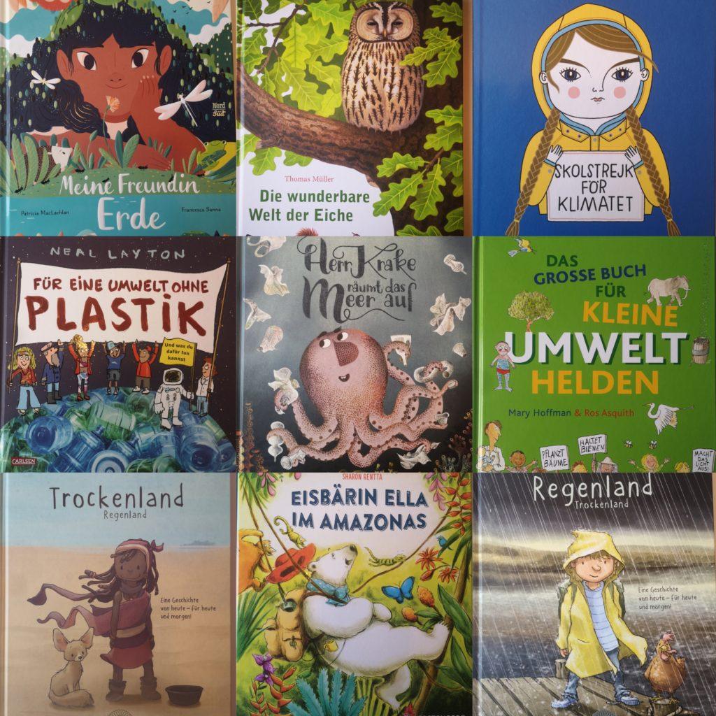 Bücher der Lesetasche: Umweltschutz