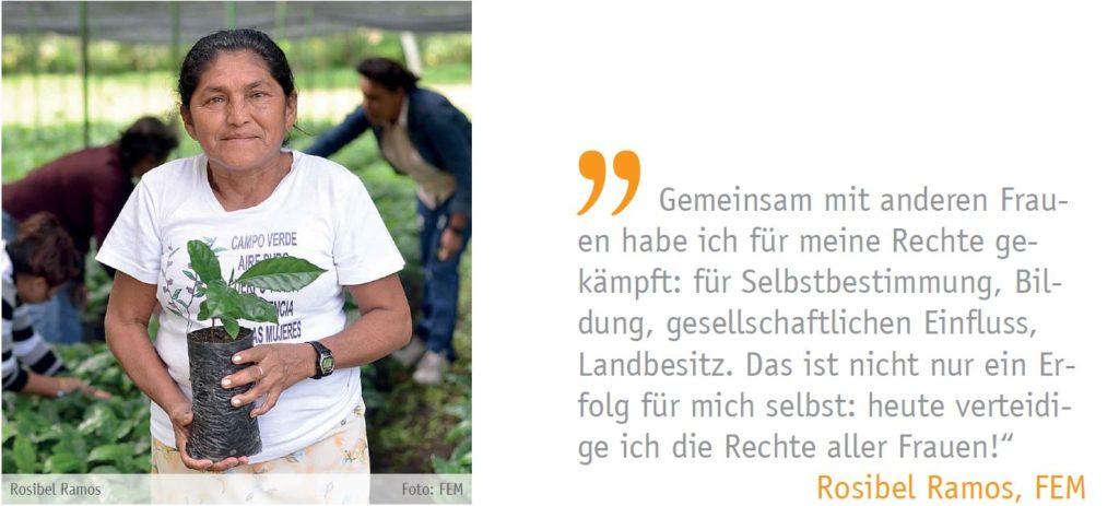 Zitat von Rosibel Ramos, FEM