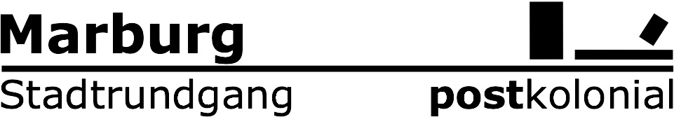 Logo Marburg postkolonial
